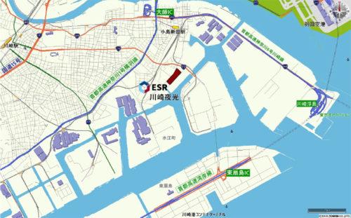 20190425esr2 500x311 - ESR/羽田空港至近、神奈川県川崎市に7.5万m2の物流施設開発