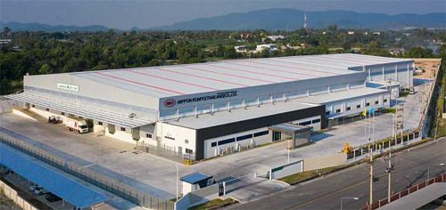 20190425nikkon1 500x236 - ニッコンHD/タイ現地法人が1.4万m2の新倉庫竣工