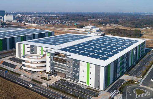 印西ロジスティクスセンターが入居するグッドマンビジネスパーク ノース