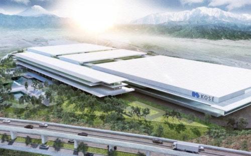 20190426cose 500x312 - コーセー/150~250億円投じ、山梨県南アルプスに新たな生産拠点建設