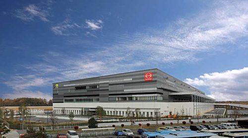 20190507hino 500x278 - 日野自動車/東京都青梅市で6.1万m2の物流センター稼働