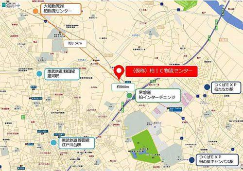 20190510daiwa2 500x352 - 大和物流/千葉県柏市に1.4万m2の物流センター建設
