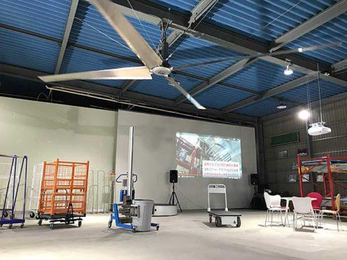 20190515jaroc1 500x375 - ジャロック/埼玉県杉戸町に最新物流機器の展示・体験施設開設
