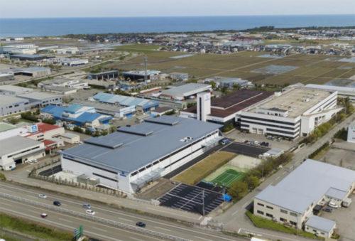 20190516hokusyo2 500x339 - ホクショー/好調な物流機器、石川県白山工場に新工場棟竣工