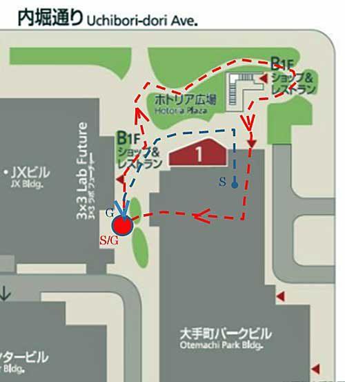 20190517mitsubishi4 1 500x553 - 三菱地所/東京・丸の内で自動運搬ロボットの自律走行実証実験