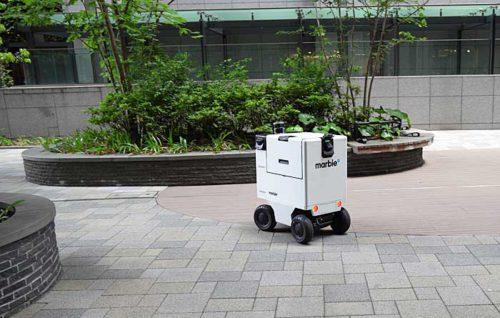 20190517mitsubishi4 500x318 - 三菱地所/東京・丸の内で自動運搬ロボットの自律走行実証実験