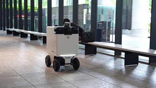 20190517mitsubishi7 500x281 - 三菱地所/東京・丸の内で自動運搬ロボットの自律走行実証実験