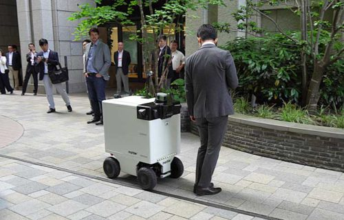 20190517mitsubishi8 500x321 - 三菱地所/東京・丸の内で自動運搬ロボットの自律走行実証実験