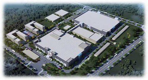 シライ電子工業の新工場