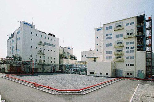 宇部ケミカル工場の医薬品工場