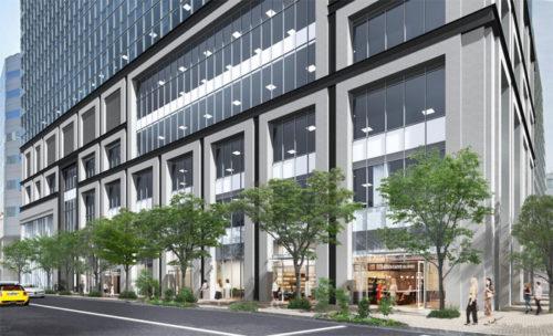 建物低層階の外観