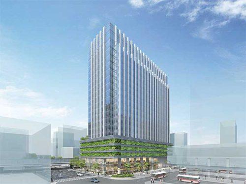 20190523yuubin1 500x374 - 日本郵便/広島東郵便局を移転、跡地に地上20階建てのビル建設