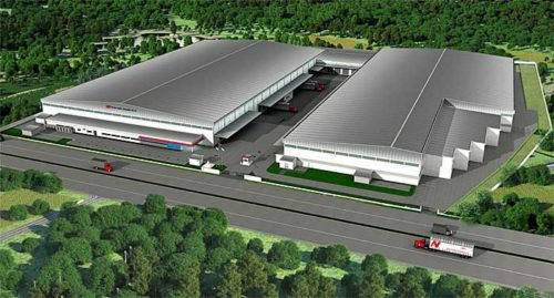 20190529nikkon 500x269 - ニッコンHD/タイ子会社がラヨーン営業所倉庫を増築