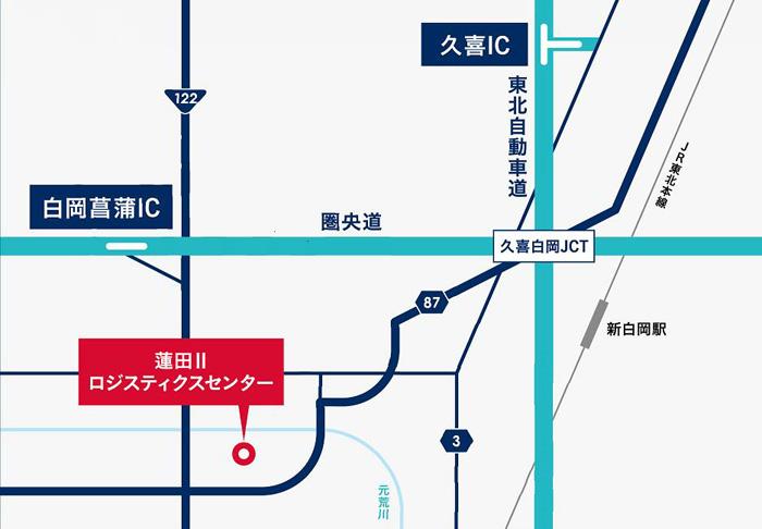 20190529orix4 - オリックス/埼玉県蓮田市に2.6万m2の物流施設竣工、岡本1棟借り