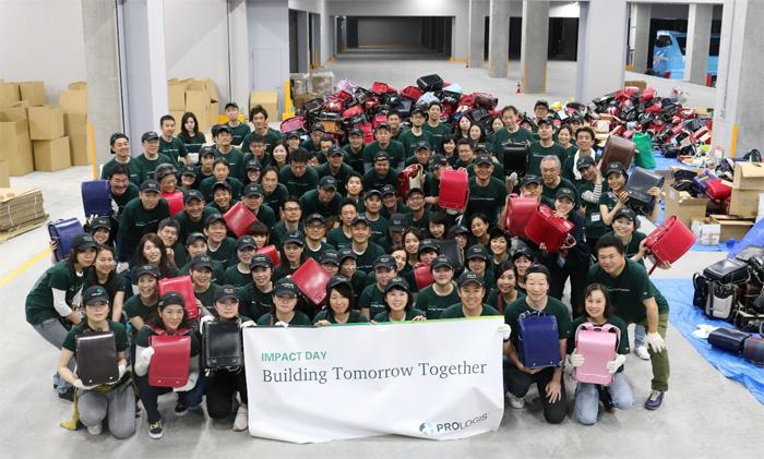 20190529prologi21 - プロロジス/従業員による一斉ボランティア実施、センコーも協賛