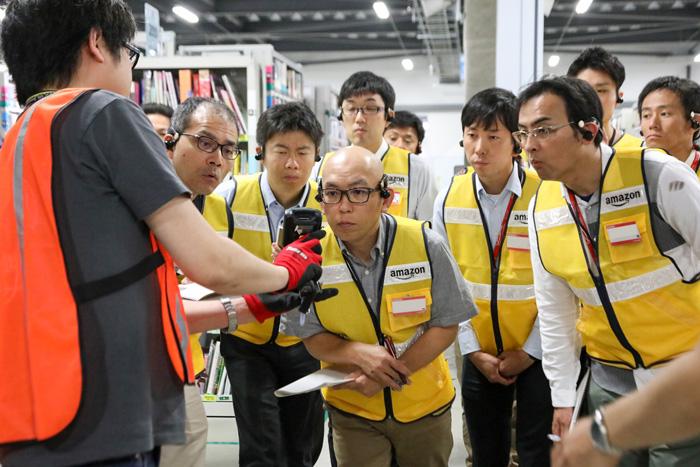20190603amazon1 - アマゾン/多治見FCでトヨタとの「企業間交流プログラム」を実施