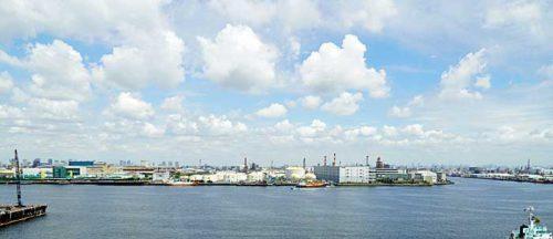 20190603lasalle10 500x216 - ラサール、三菱地所、NIPPO/川崎市で30万m2の物流施設を満床竣工