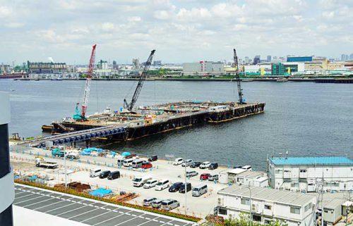 20190603lasalle12 500x321 - ラサール、三菱地所、NIPPO/川崎市で30万m2の物流施設を満床竣工