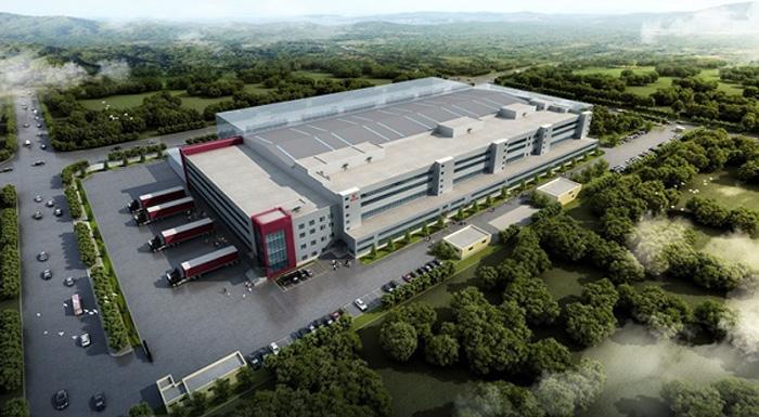 天津工場完成予想図