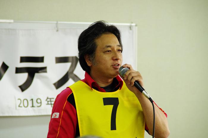 優勝した安藤選手