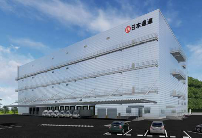 20190606nittsu - 日通/福岡県北九州市に延床1.7万m2の九州医薬品センターを着工