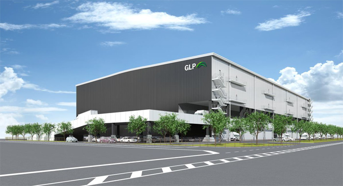 「GLP平塚I」外観完成イメージ