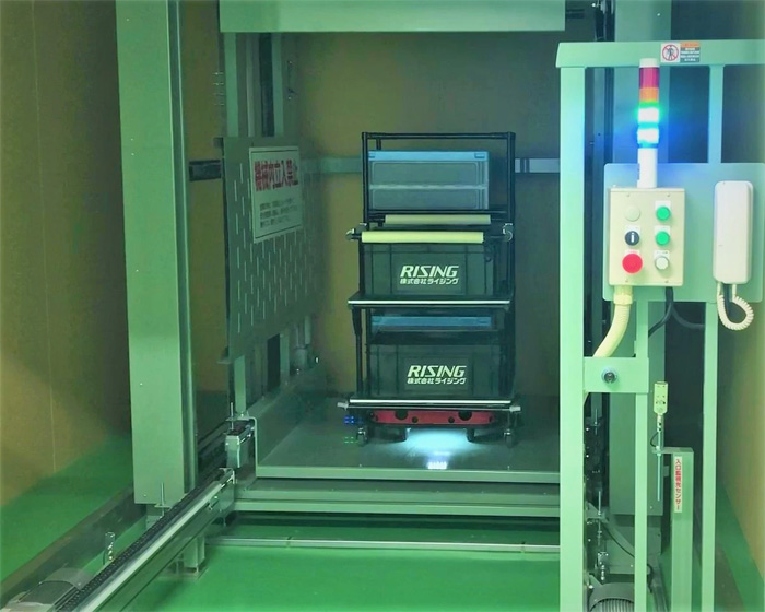 20190610zmp - ZMP/物流支援ロボットの連携モデルが電子機器製造工場に導入