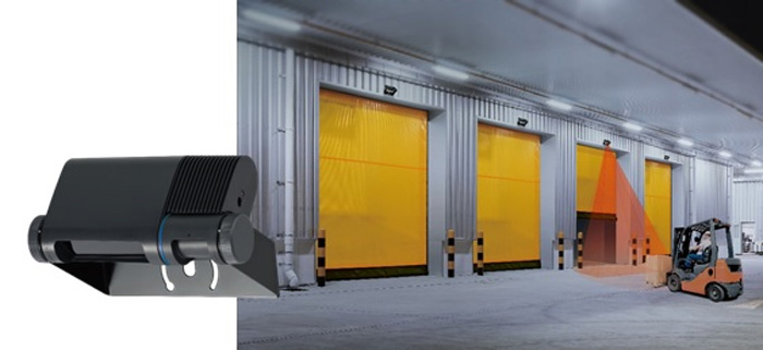 20190611optex - オプテックス/工場や倉庫の出入口用シャッターセンサー発売開始