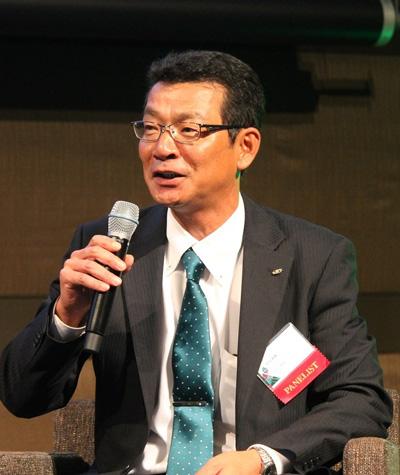 SBSスタッフの小川和男執行役員営業本部長