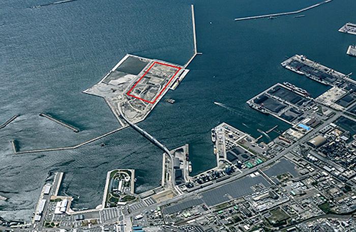 小名浜港東港地区石炭ターミナル整備・運営予定地