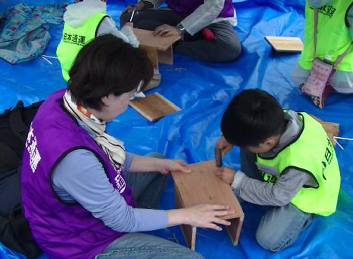 20190620nittsu2 - 日通/山形県飯豊町「日通の森」で、夏の森林育成活動を実施