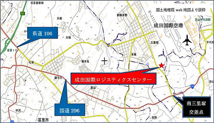 NGLC周辺地図