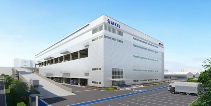 20190702askul - アスクル/東京都江戸川区臨海町に5.8万m2の拠点センターを新設