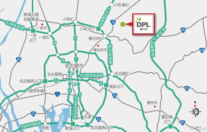 20190702daiwa2 - 大和ハウス/愛知県春日井市で6万m2の物流施設を竣工