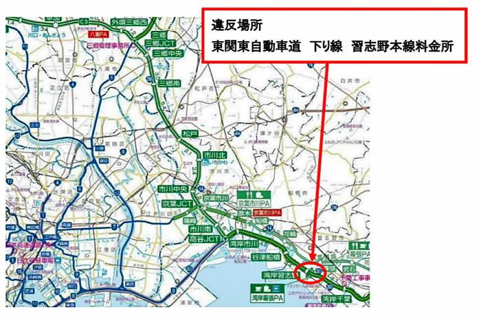 20190703nexcoe1 - NEXCO東日本ほか/東関道で重量超過値36.65tの重量超過車両を告発