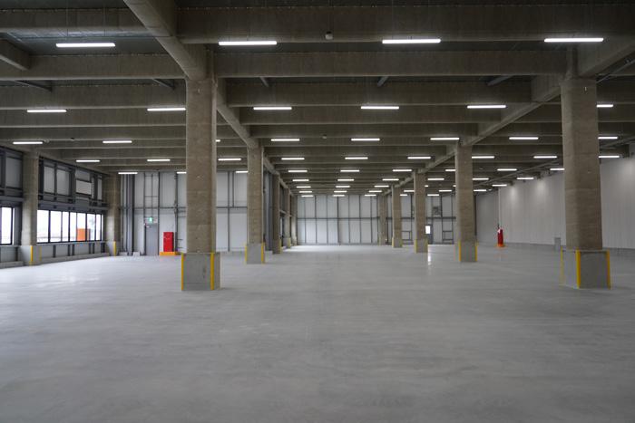 倉庫部分内部の様子