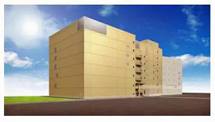 野洲事業所での新生産棟完成予想図
