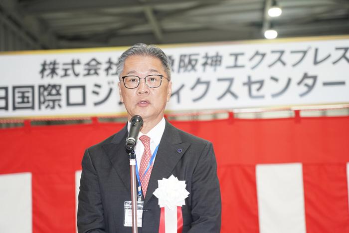 阪急阪神エクスプレスの岡藤 正策会長