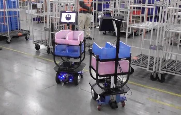 実験に使用したロボット