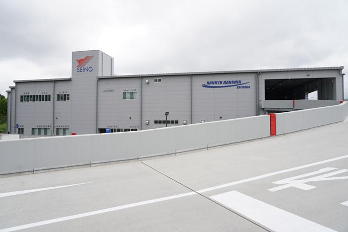 移転先の成田国際ロジスティクスセンター