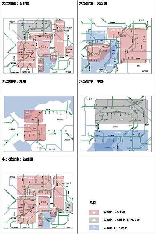 20190716cre 500x752 - CRE/4~6月期の大型倉庫需要、首都圏で3四半期連続20万坪超え