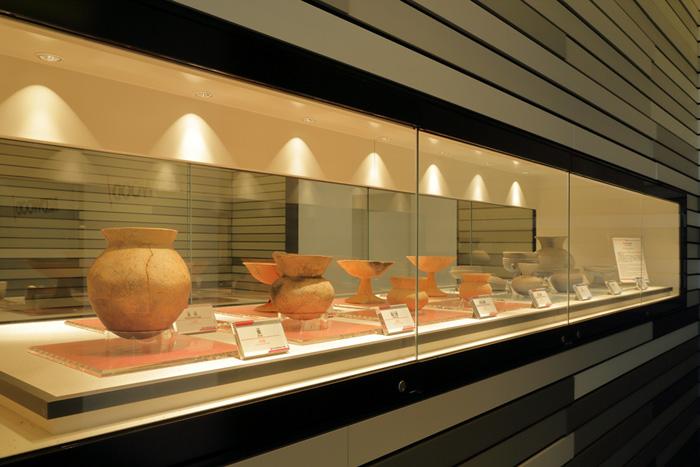 20190716esr3 - ESR/藤井寺DC内の遺跡展示を古市古墳群世界遺産登録記念で一般公開