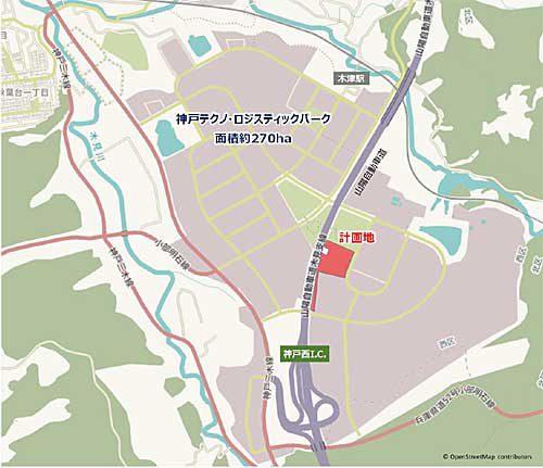 20190716lasalle2 500x431 - ラサール/神戸市西区に最大4.7万m2の物流施設建設