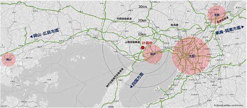 20190716lasalle3 500x220 - ラサール/神戸市西区に最大4.7万m2の物流施設建設