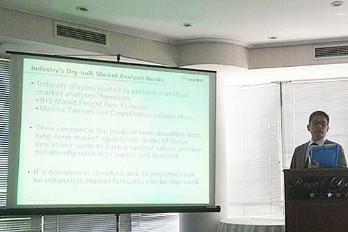 20190716nyk 500x333 - 日本郵船/国際海運経済学会でドライバルク市況分析の新手法発表