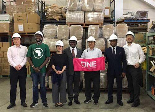20190718one 500x362 - ONE/アフリカのサイクロン被災地へ衣料品を無償輸送