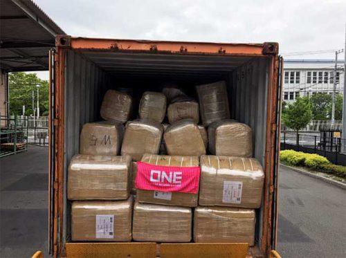 20190718one2 500x373 - ONE/アフリカのサイクロン被災地へ衣料品を無償輸送