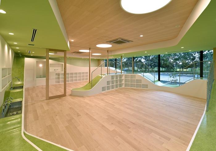 「ESR 学童スクール」が開校される久喜DC 内の託児所
