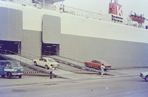 20190723kline2 500x330 - 川崎汽船/自動車運搬船「第十とよた丸」が「ふね遺産」に認定