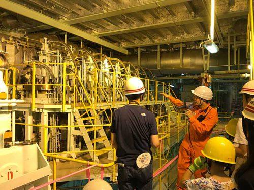 20190723nyk2 500x375 - 日本郵船/横浜「うみ博」で巨大自動車船内部を一般公開